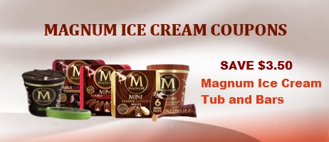 Magnum Ice Cream Coupons Printable