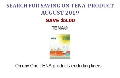 graphic regarding Tena Coupons Printable identified as Tena Discount coupons Coupon Community