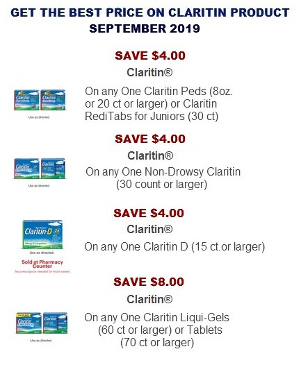 picture about Claritin Printable Coupon titled Coupon Community Ideal on line cost-free discount coupons for your future searching