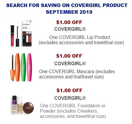 graphic relating to Covergirl Printable Coupons known as Covergirl Coupon codes Coupon Community