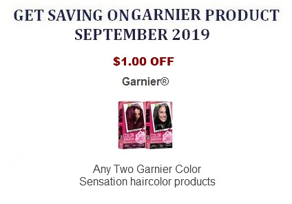 photograph about Garnier Coupons Printable named Garnier Printable Discount codes Coupon Community
