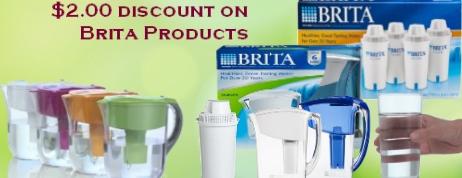 Brita Water Filter Pitcher Coupons