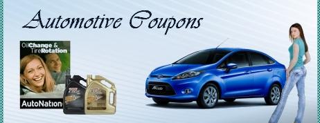 Automotive Coupons