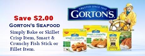 Gorton's Seafood Coupons