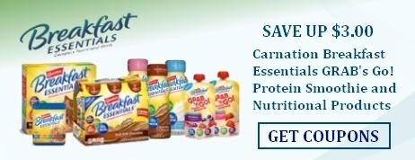 Carnation Breakfast Essentials Drinks