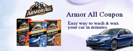 Armor All coupon