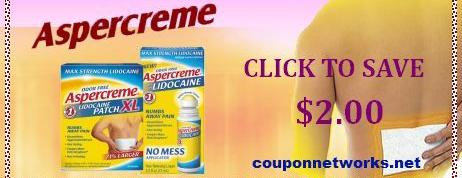 Aspercreme coupons