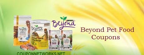 Beyond Pet Food Coupons
